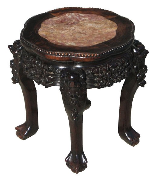 # 4205 Carved Stool