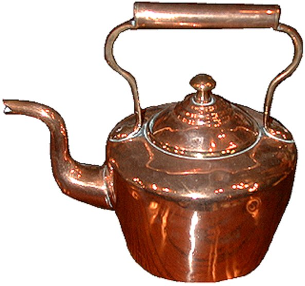 # 1870 Georgian Kettle
