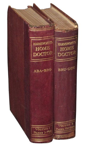 # 2455 Set of 2 Harmsworth's Home Doctor