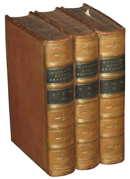 # 4615 Set of 3 Motley's Dutch Republic Books