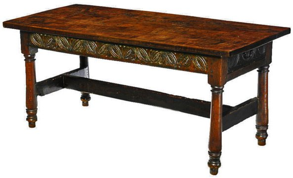 # 5132 Baroque Library Table