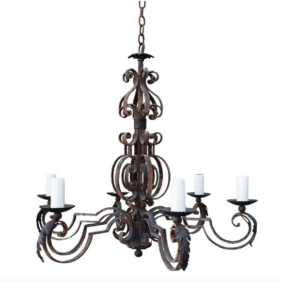 - Antique Lighting & Chandeliers At Ralf's Antiques, Los Angeles
