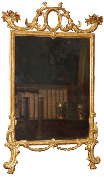 # 5297 Louis XVI Gilt Mirror