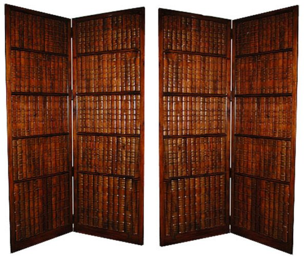 # 3613 Pair of Faux Book Screens
